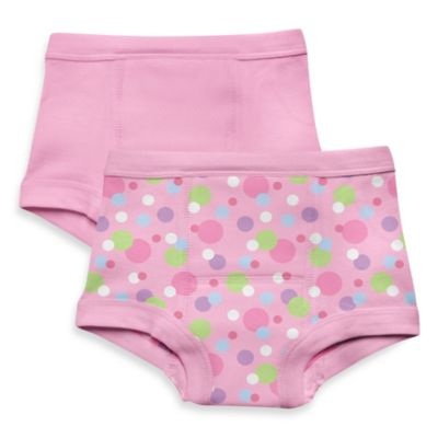 i play.® Size 18M 2-Pack Training Pants in Pink