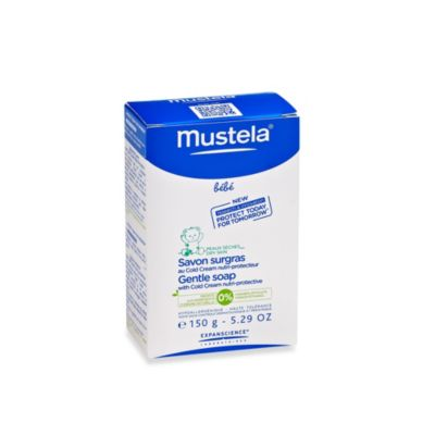 Mustela® Bebe 150g/5.29-Ounce Gentle Soap with Cold Cream Nutri-Protective