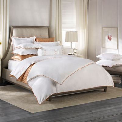 Barbara Barry Dream Peaceful Pique Full/Queen Duvet Cover