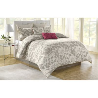 Soho New York Home Peony 8-Piece Queen Comforter Set