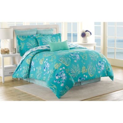 Soho New York Home Beachcomber Reversible King Comforter Set