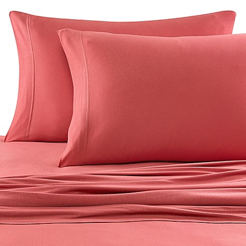 Buy Pure Beech 174 Jersey Knit Twin Xl Sheet Set In Lilac