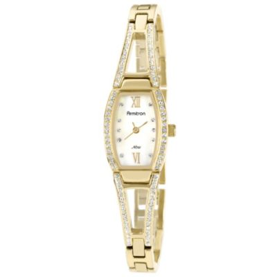 Armitron® Women's Swarovski Crystal Bangle Watch