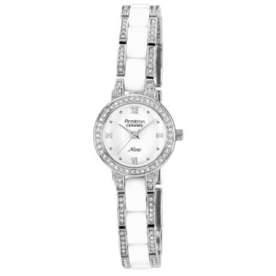 Silver Swarovski Watch