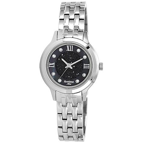 Womens Watches Silver Tone Silver-tone Bracelet Watch