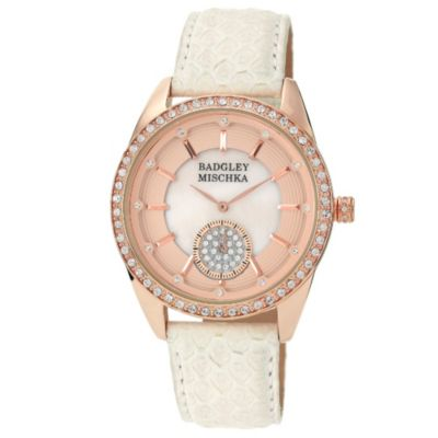 Badgley Mischka Crystal Watch