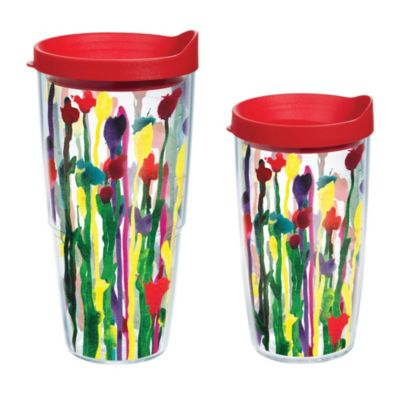 Tervis® Skinny Flowers 16 oz. Wrap Tumbler with Lid