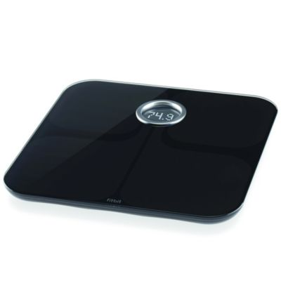 Fitbit Aria Wi-Fi Smart Bathroom Scale in Black