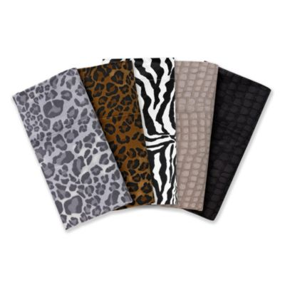 Black Zebra Standard Pillowcases (Set of 2)