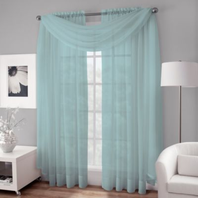 Buy Aqua Valances For Windows From Bed Bath Amp Beyond