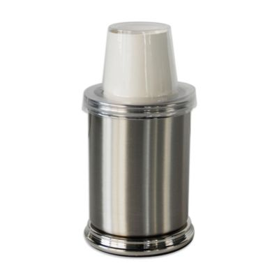 Brushed Nickel Cup Dispenser