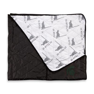 Michigan State University Indoor/Outdoor Throw Blanket