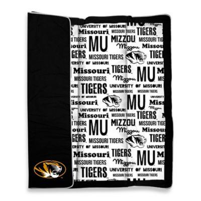 University of Missouri Indoor/Outdoor Throw Blanket