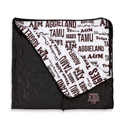 Texas A&M University Indoor/Outdoor Throw Blanket