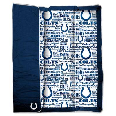 NFL Indianapolis Colts Indoor/Outdoor Throw Blanket