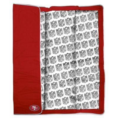 NFL San Francisco 49ers Indoor/Outdoor Throw Blanket