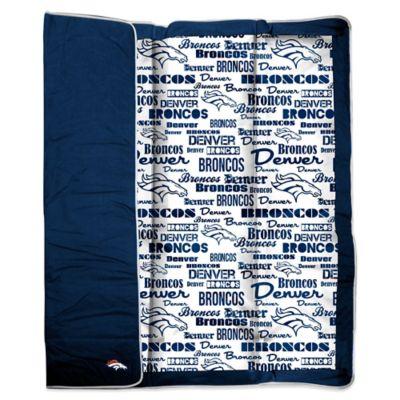 NFL Denver Broncos Indoor/Outdoor Throw Blanket