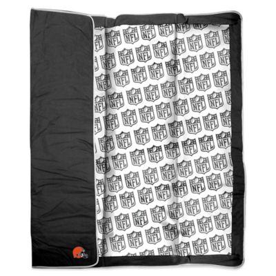 NFL Cleveland Browns Indoor/Outdoor Throw Blanket