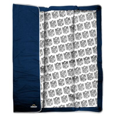 NFL San Diego Chargers Indoor/Outdoor Throw Blanket