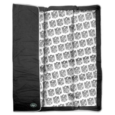NFL New York Jets Indoor/Outdoor Throw Blanket