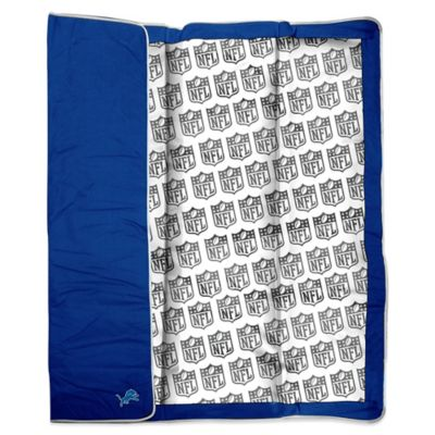 NFL Detroit Lions Indoor/Outdoor Throw Blanket