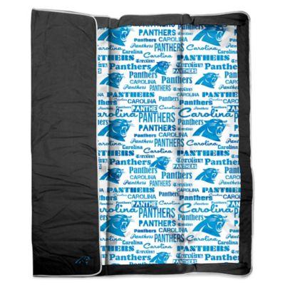 NFL Carolina Panthers Indoor/Outdoor Throw Blanket