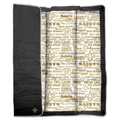 NFL New Orleans Saints Indoor/Outdoor Throw Blanket