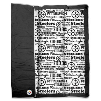 NFL Pittsburgh Steelers Indoor/Outdoor Throw Blanket