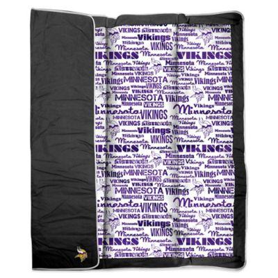 NFL Minnesota Vikings Indoor/Outdoor Throw Blanket