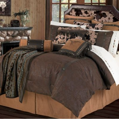 HiEnd Accents Caldwell 4-Piece Twin Comforter Set