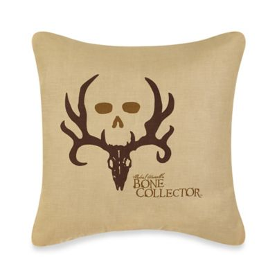 Bone Collector™ by Michael Waddell Decorative Pillow in Tan