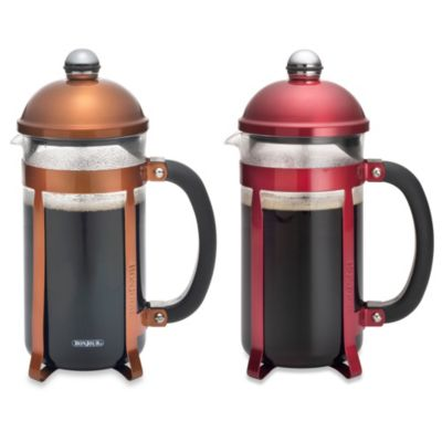 BonJour® Maximus 8-Cup French Press in Stainless Steel