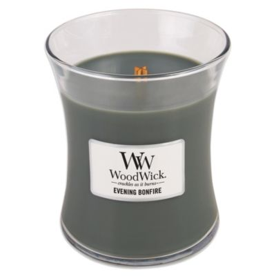 Woodwick® Evening Bonfire 10-Ounce Jar Candle