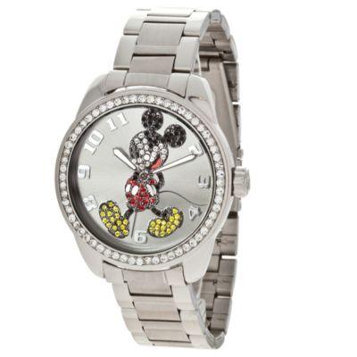 Disney® Classic Time Mickey Diamante Watch