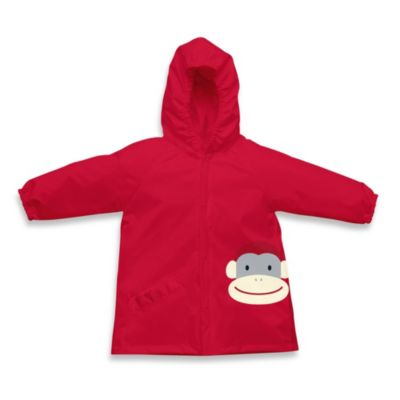 i play.® On Safari Size 3-4T Lightweight Pocket Rain Jacket in Red Monkey