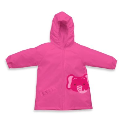 i play.® On Safari Size 3-4T Lightweight Pocket Raincoat in Pink Elephant