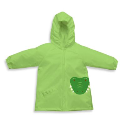 I play.® On Safari Size 3T-4T Lightweight Pocket Raincoat in Green Alligator