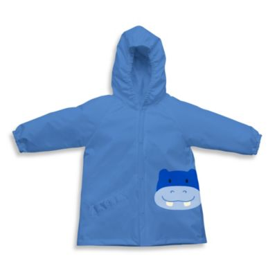i play.® On Safari Size 6-12M Lightweight Pocket Rain Jacket in Blue Hippo