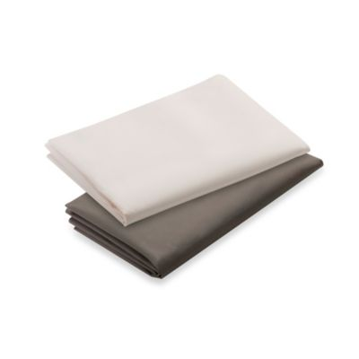 Graco® Pack 'n Play® 2-Count Waterproof Playard Sheet in Brown and Cream
