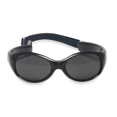 UVeez Flex Fit Toddler Sunglasses in Black