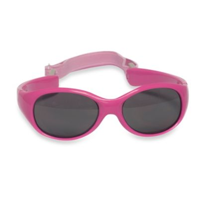 UVeez Flex Fit Toddler Sunglasses in Hot Pink