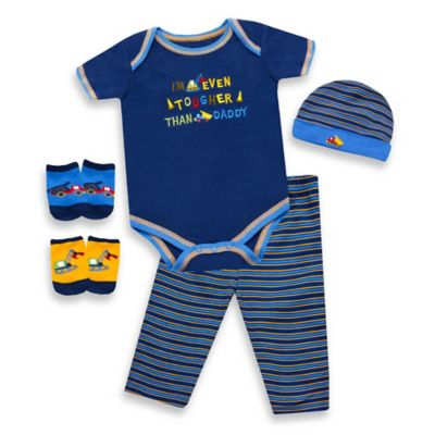 Baby Essentials 5-Piece Tougher Than Daddy Layette Set