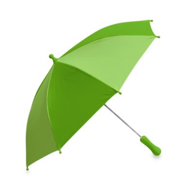 i play® Solid Block Umbrella in Green