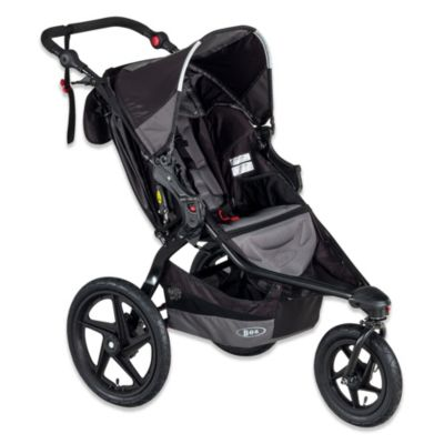 BOB® REVOLUTION® FLEX Single Stroller in Black/Grey