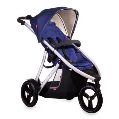 phil&teds® Vibe™ Single Stroller in Cobolt