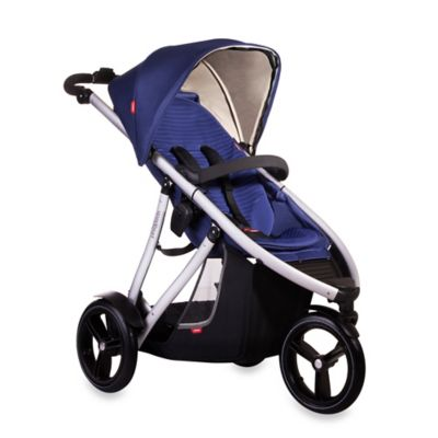 phil&teds® Verve™ Single Stroller in Cobolt