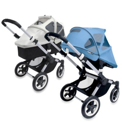 Bugaboo Buffalo Adjustable Breezy Sun Canopy in Soft Pink