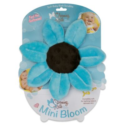 Mini Bloom Scrubbie in Turquoise