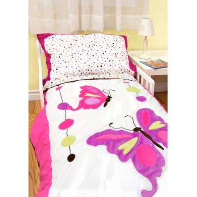 Butterfly 4-Piece Toddler Bedding Set