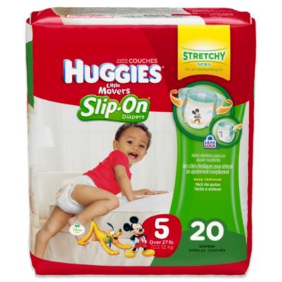 Huggies® Little Movers Slip-On 20-Count Size 5 Jumbo Pack Diapers